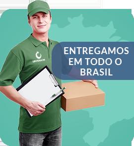 Entregamos em todos o Brasil